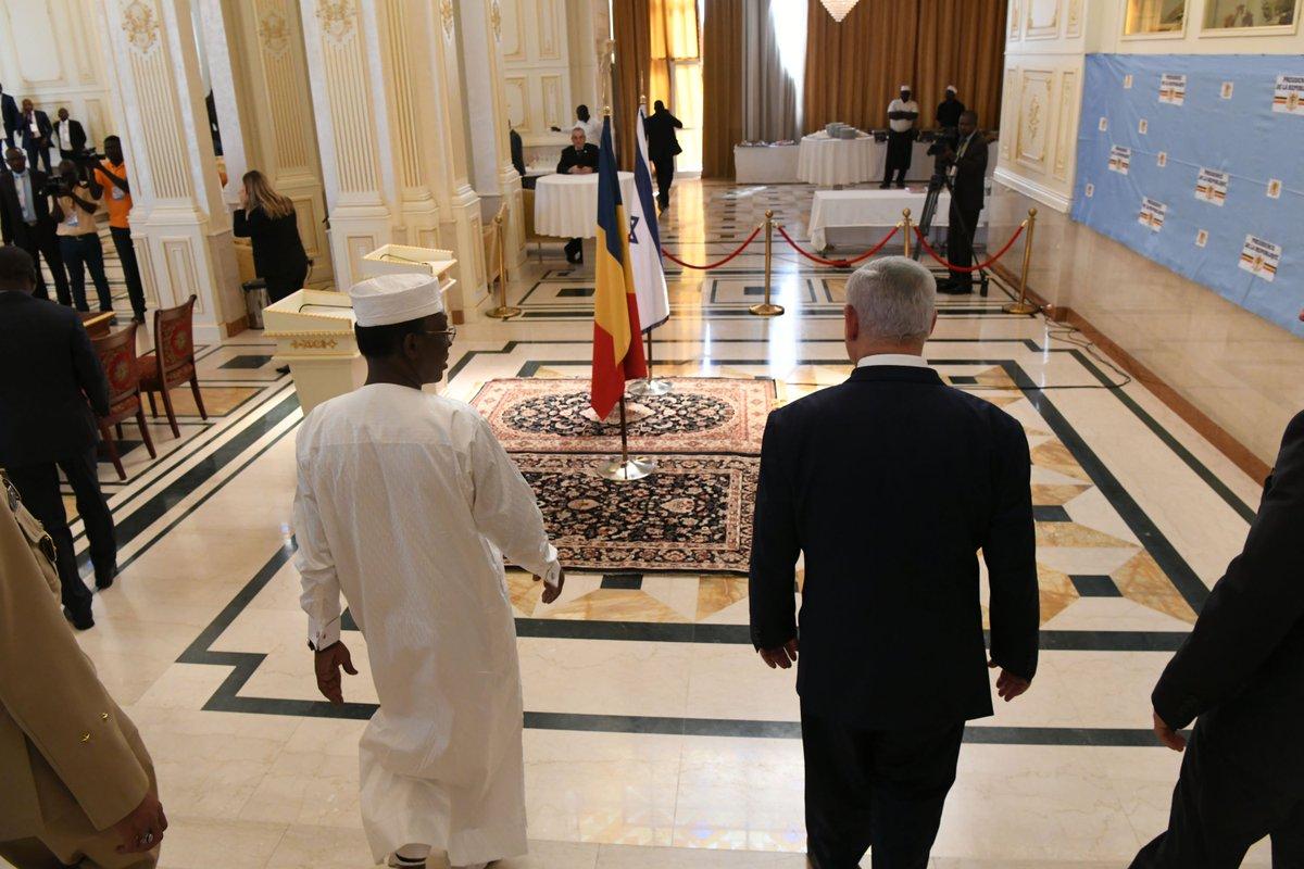 قناة إسرائيلية: نتنياهو سيعرض على تشاد حماية حدودها مع ليبيا DxWvkemXQAAPZlc