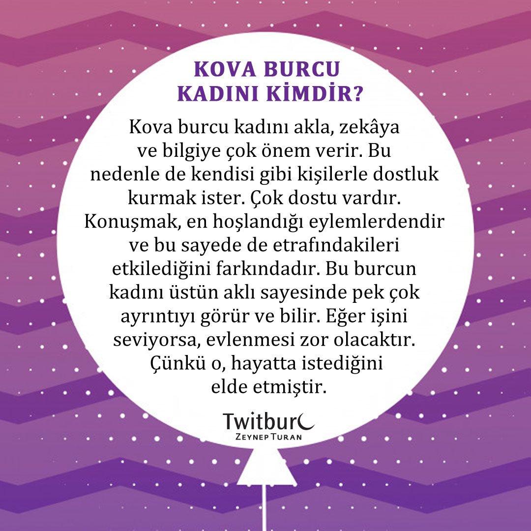 Zeynep Turan On Twitter Kova Burcu Kadını Nasıldır Httpstco