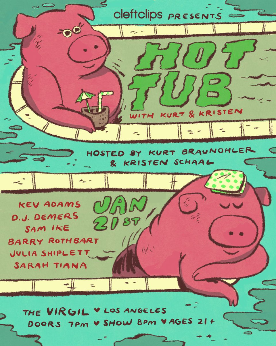 Hot Tub Show on Twitter: