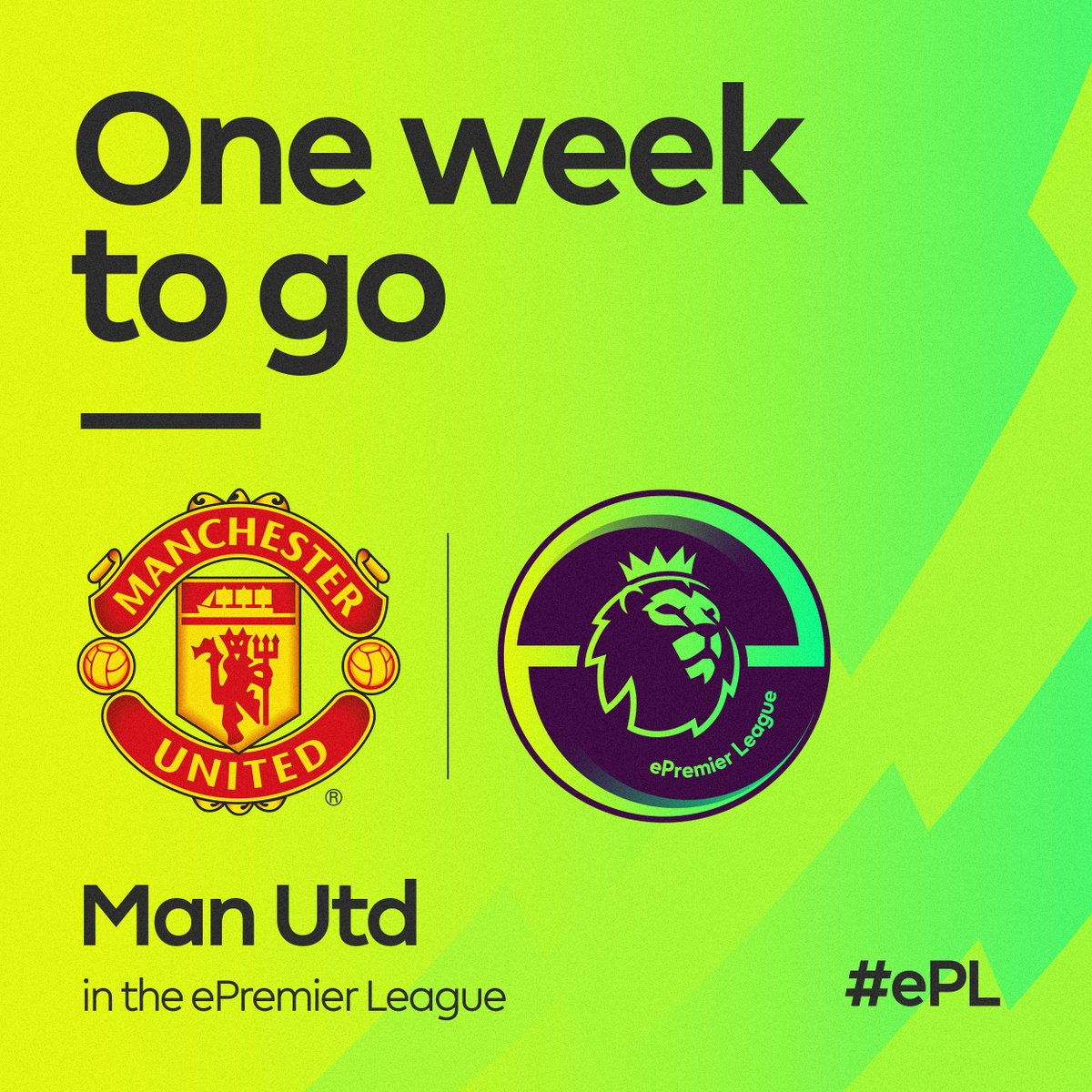 Registered for the #ePL? Only one week left to qualify for the #MUFC play-off at Old Trafford. 📅 Schedule your matches at http://e.premierleague.com.