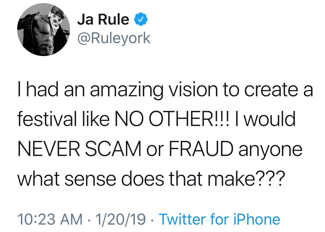Ja Rule is planning a new Fyre Festival-like event