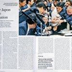 Image for the Tweet beginning: Au Japon, les communistes et