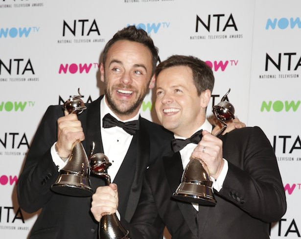 Ant and Dec confirmed no-shows at NTA's after 18 year winning streak https://t.co/G76sPAfVez