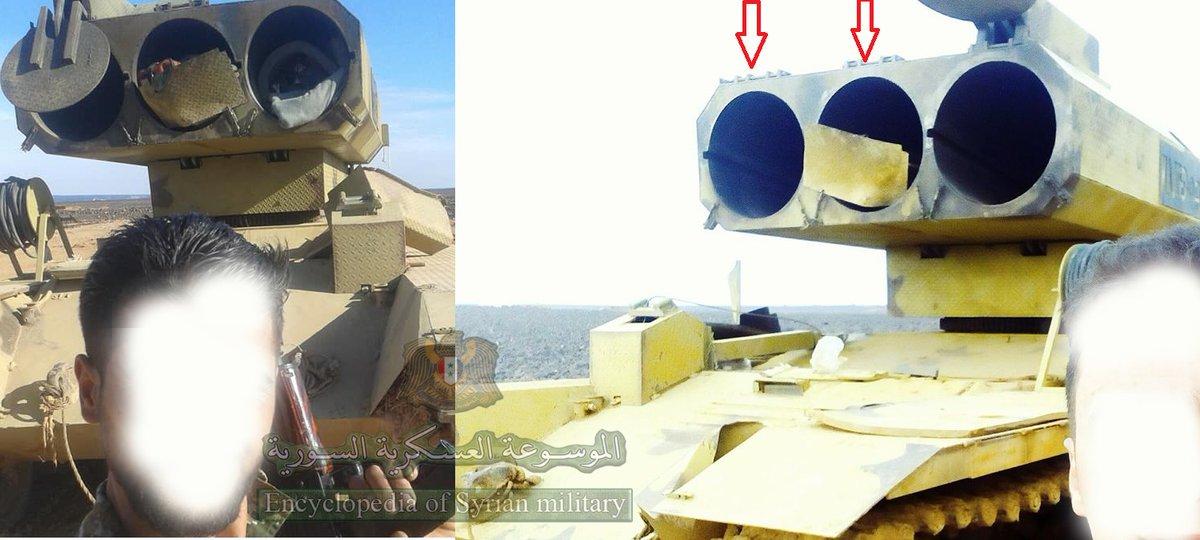 سوريا تميط اللثام عن راجمه Golan 1000  DxX9FWMWsAE5IVG