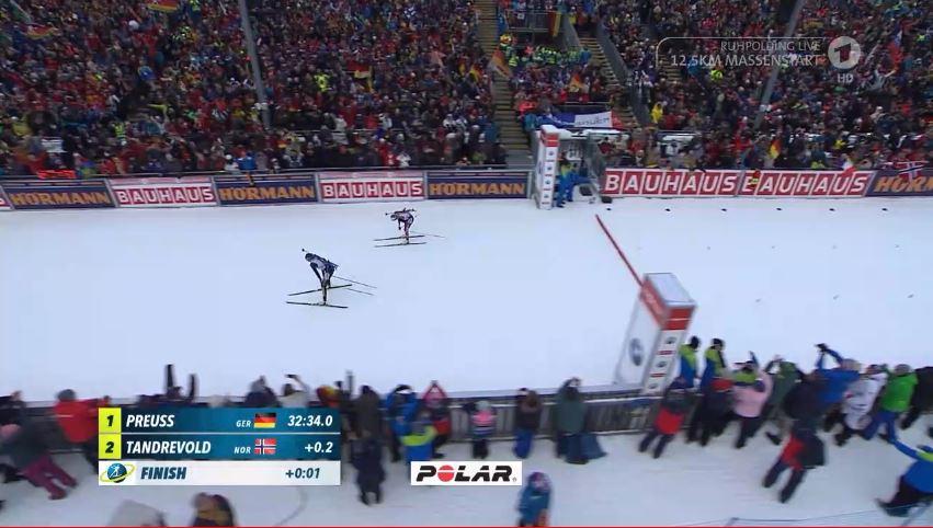 Sportschau's photo on #biathlon