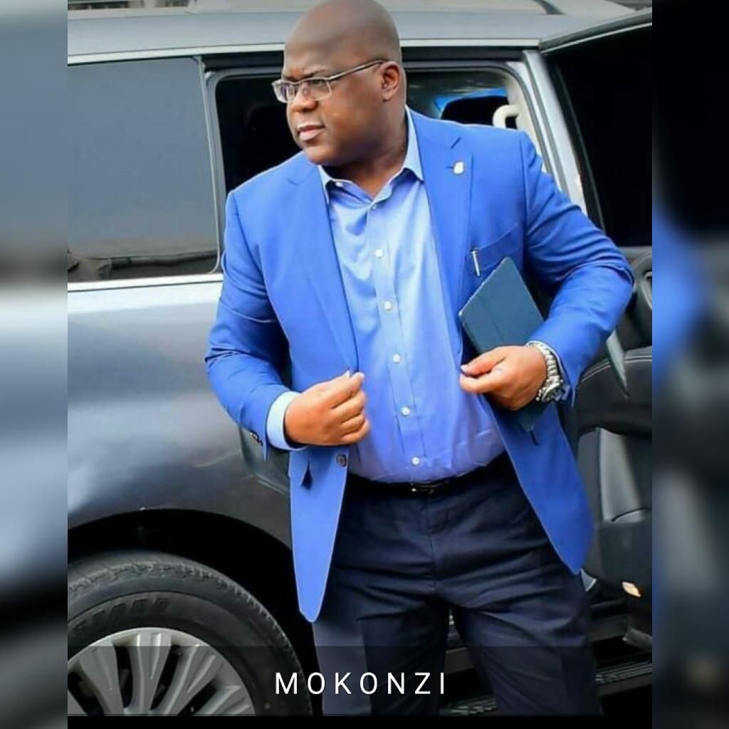 Papa mokonzi, son Excellence monsieur le président, chef de l'État Félix Antoine Tshisekedi tshilombo  Toutes nos vives Félicitations