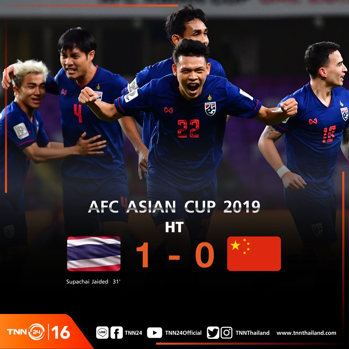 TNN24 ช่อง 16's photo on #AFCAsianCup2019