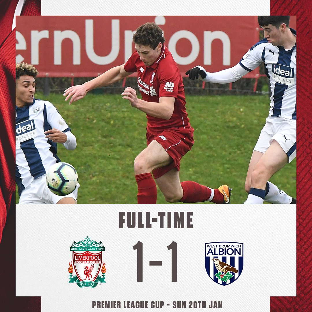 It ends in a draw for our #LFCU23s.   #PLCup