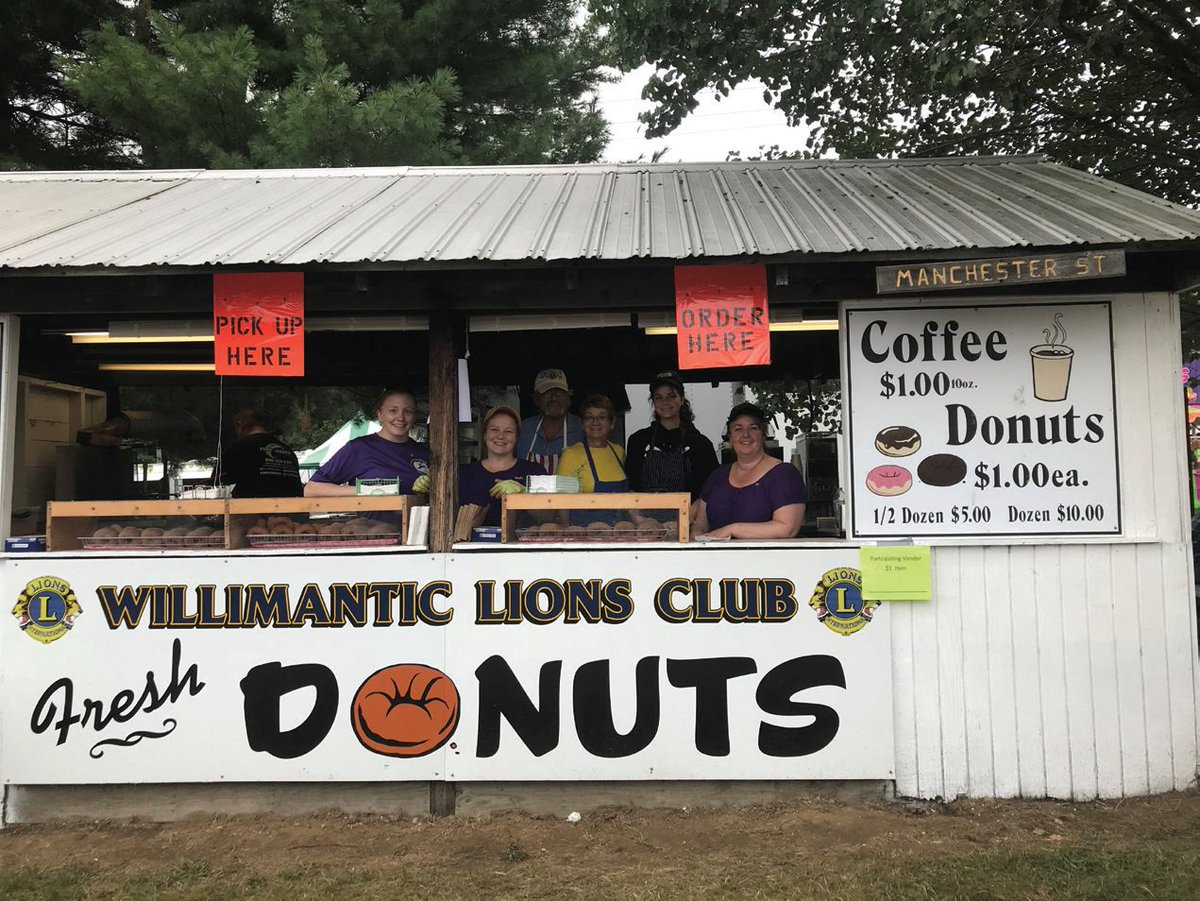 test Twitter Media - 8,000 donuts later, the Willimantic Lions in Connecticut, USA, generated more than US$6,000 at the annual Hebron Lions Fall Festival to donate to local charities 🍩🦁💯➡ https://t.co/Hyi546uDtg https://t.co/prHbGiNyUB