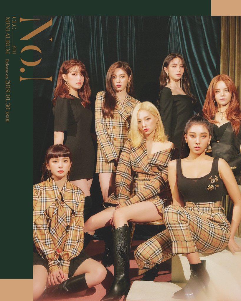 #CLC 8th Mini Album [No.1] 👄 Concept Image 1 2019.01.30. 18:00 (KST)  #씨엘씨 #Comeback #No_1