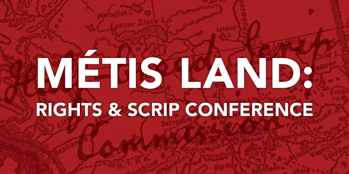 Tickets may be sold out, but you can still tune in to the view the Métis Land: Rights and Scrip Conference on Feb 8-9 2019 on Facebook livestream. Learn how scrip impacted Métis in Alberta and what Canada is doing about it now. More at http://albertametis.com/metis-land-rights-scrip-conference/… #abmetisproud