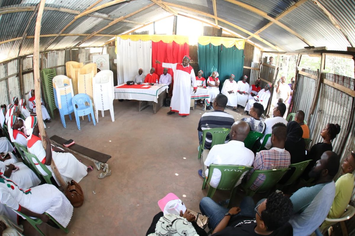 In the spirit of promoting and enhancing tolerance among members of different faiths, our Patron led members of our team to African Divine Church Shimanzi.