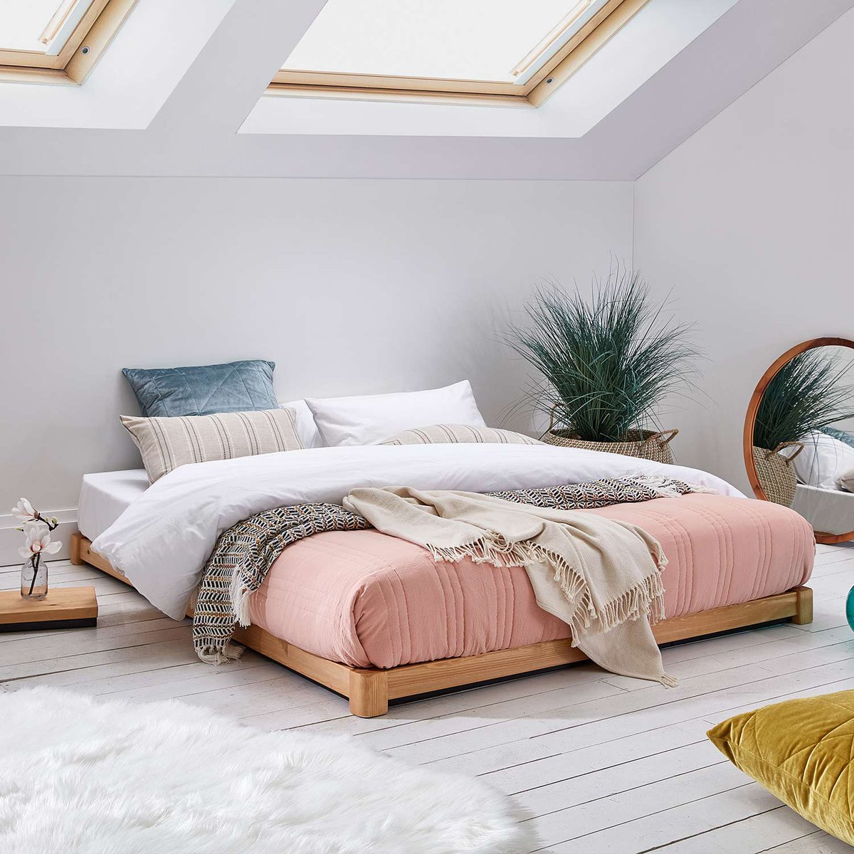 Picture of: Get Laid Beds در توییتر Low Beds Are Perfect For The Loft Or Attic Conversion Where Often Low Ceilings Are An Issue Handmade To Order We Can Customise Their Size For Your