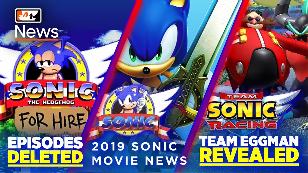 Tails Channel Sonic The Hedgehog News Updates On Twitter New Sonicnews Video Sonicmovie Memes A New Teamsonicracing Roster Sonicforhire Is Gone New Sonicmusic Teased Here S A Recap Of