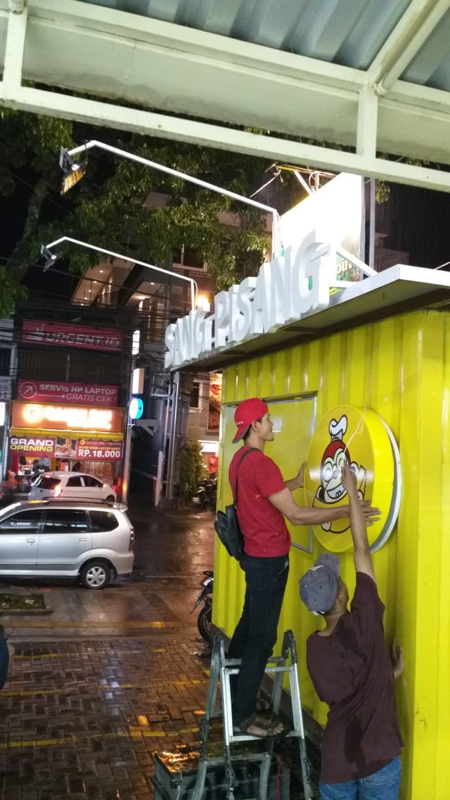 Sang Pisang di Bandung