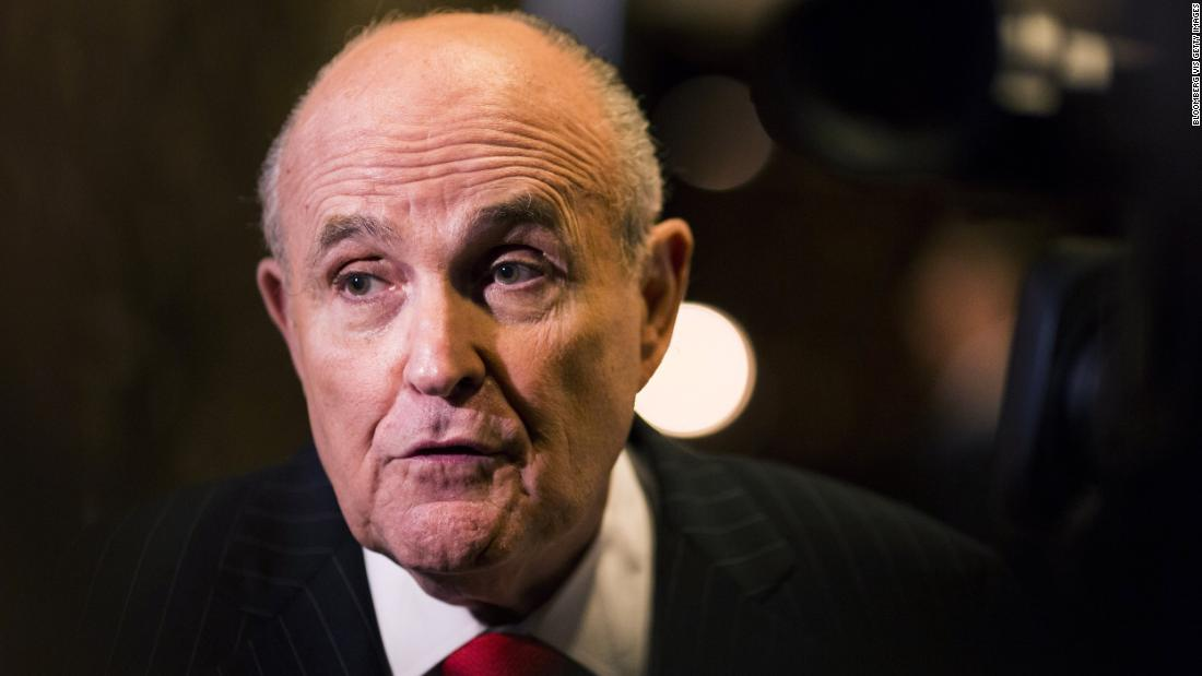 Rudy Giuliani says President Trump might have talked to Michael Cohen about his congressional testimony https://t.co/eIVbHJmhl9