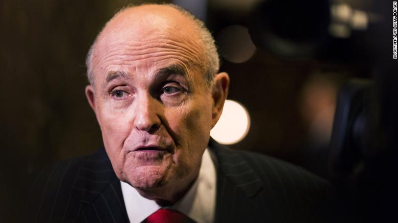Rudy Giuliani doesn't know for sure if Trump talked to Michael Cohen about his congressional testimony, saying, 'So what if he talked to him about it?' https://t.co/7jp36bjR3t