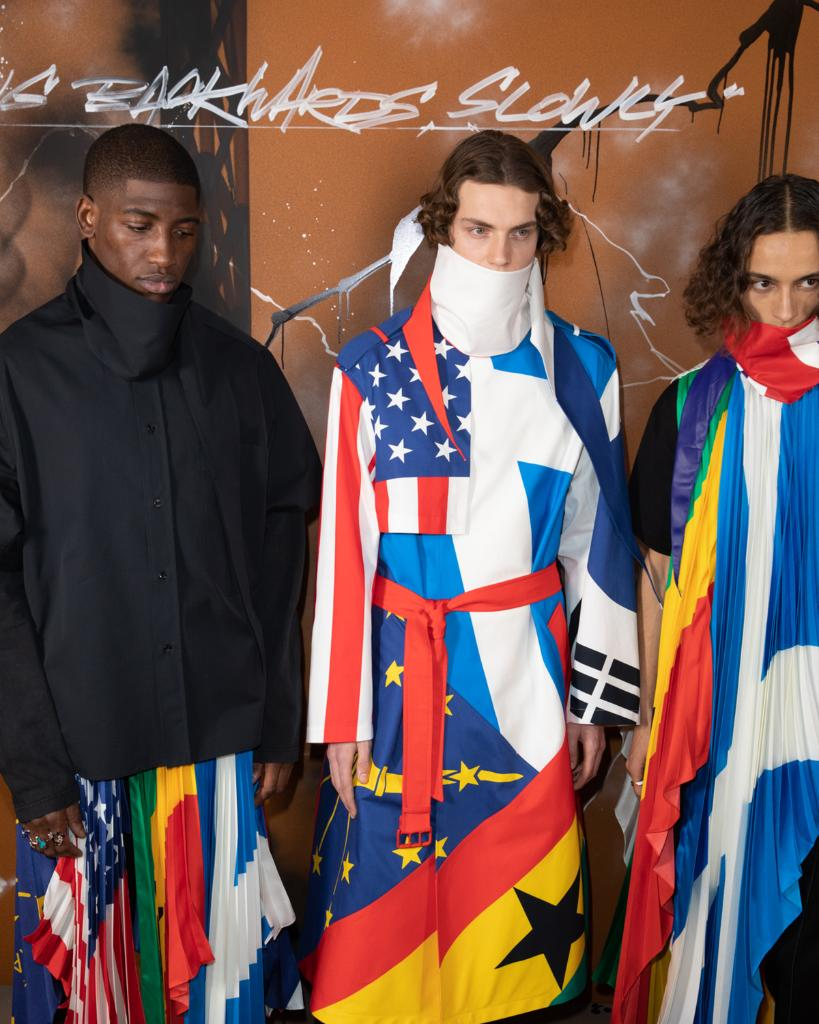 Backstage at the #LouisVuitton #LVMenFW19 Show by @VirgilAbloh in Paris. See more at https://t.co/wu8QoYRDm1