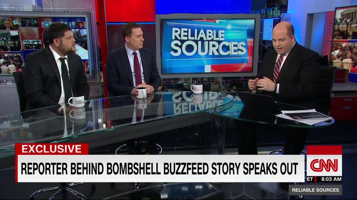 Fascinating @BuzzFeedBen @a_cormier_ interview with @brianstelter this morning. @ReliableSources