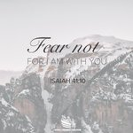 Image for the Tweet beginning: We must not fear for