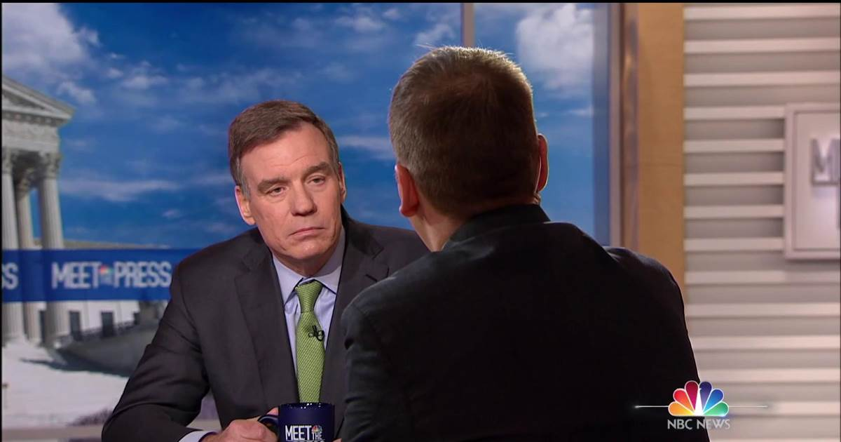 WATCH: @MarkWarner joins #MeetThePress to discuss Trump's talks with Russia over Trump Tower Moscow during the 2016 election. #IfItsSunday  https://t.co/AgTrdMaSQg