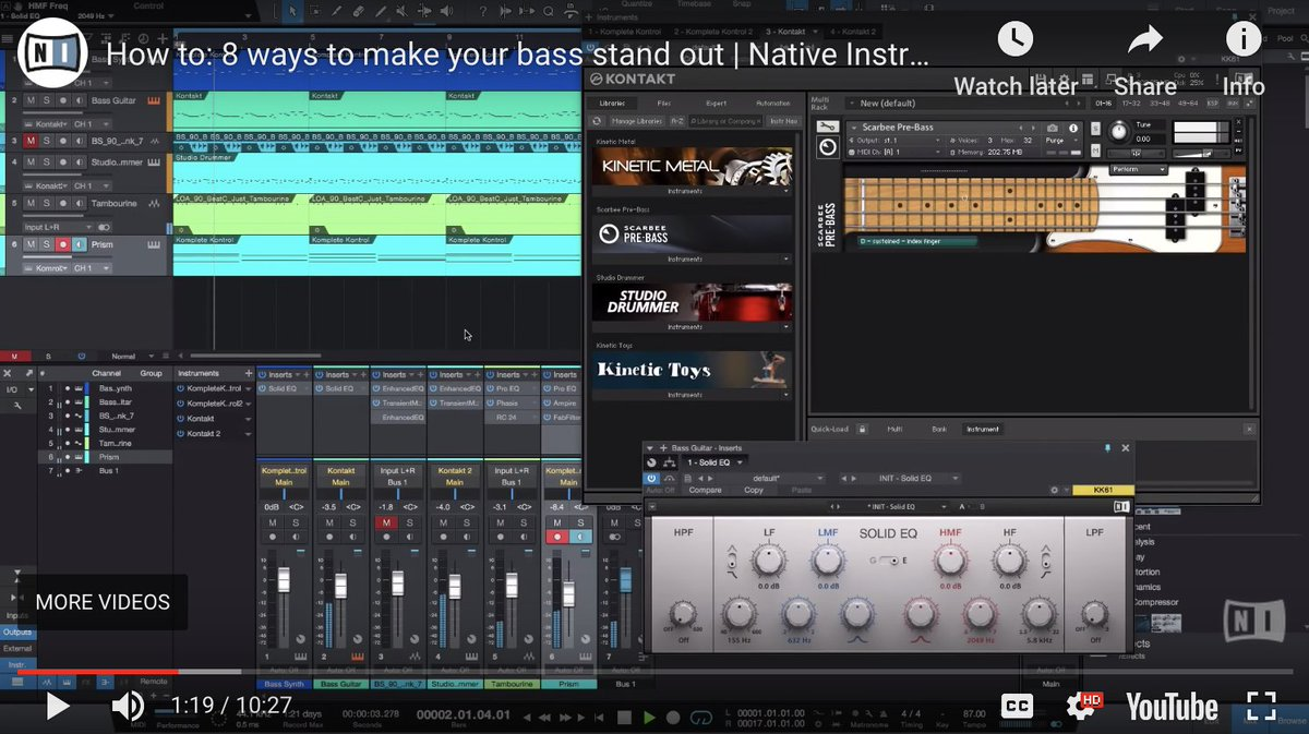 37dd27c1f7 ... SOLID EQ, MASSIVE and more, to tweak, tune, compress, and maximise the  low-end elements in your music: http://bit.ly/2RS1kb5 #Komplete  #MusicProduction ...
