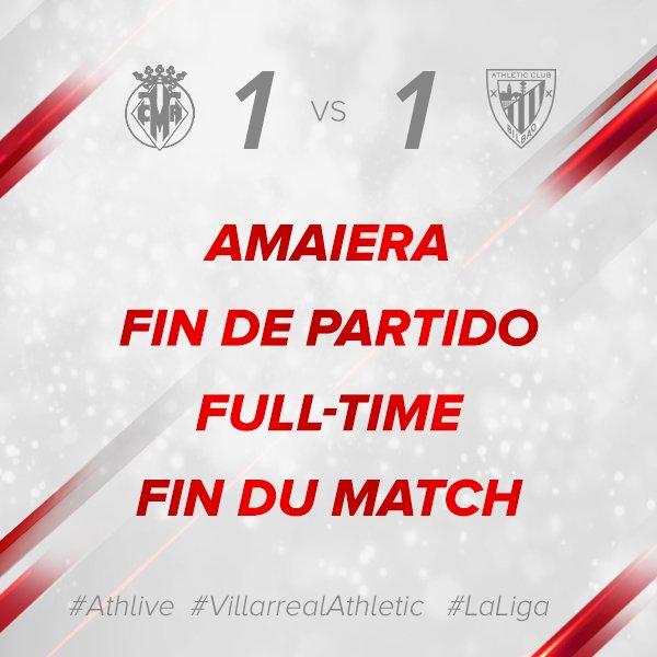 1-1 #athlive #VillarrealAthletic #GoruntzBegira 💪🦁
