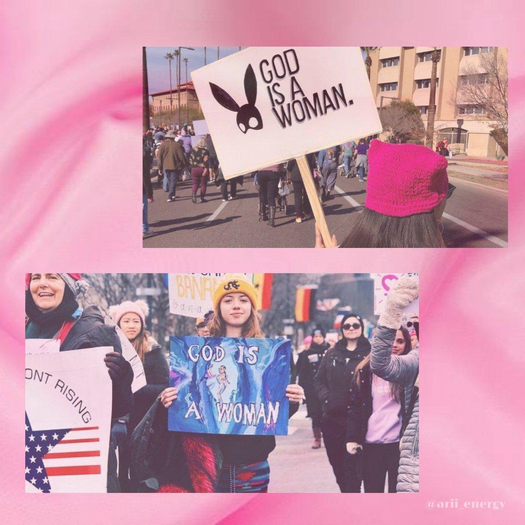 O impacto: músicas de Ariana Grande inspiram diversas mulheres na Women's March 2019