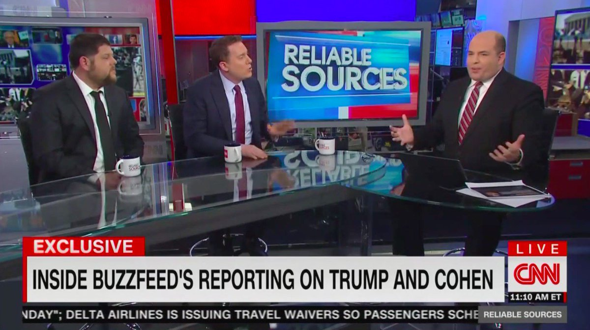Buzzfeed Stands By 'All Of' Cohen Bombshell: 'Our Reporting Will Be Borne Out' https://t.co/qSIPkcMYNp
