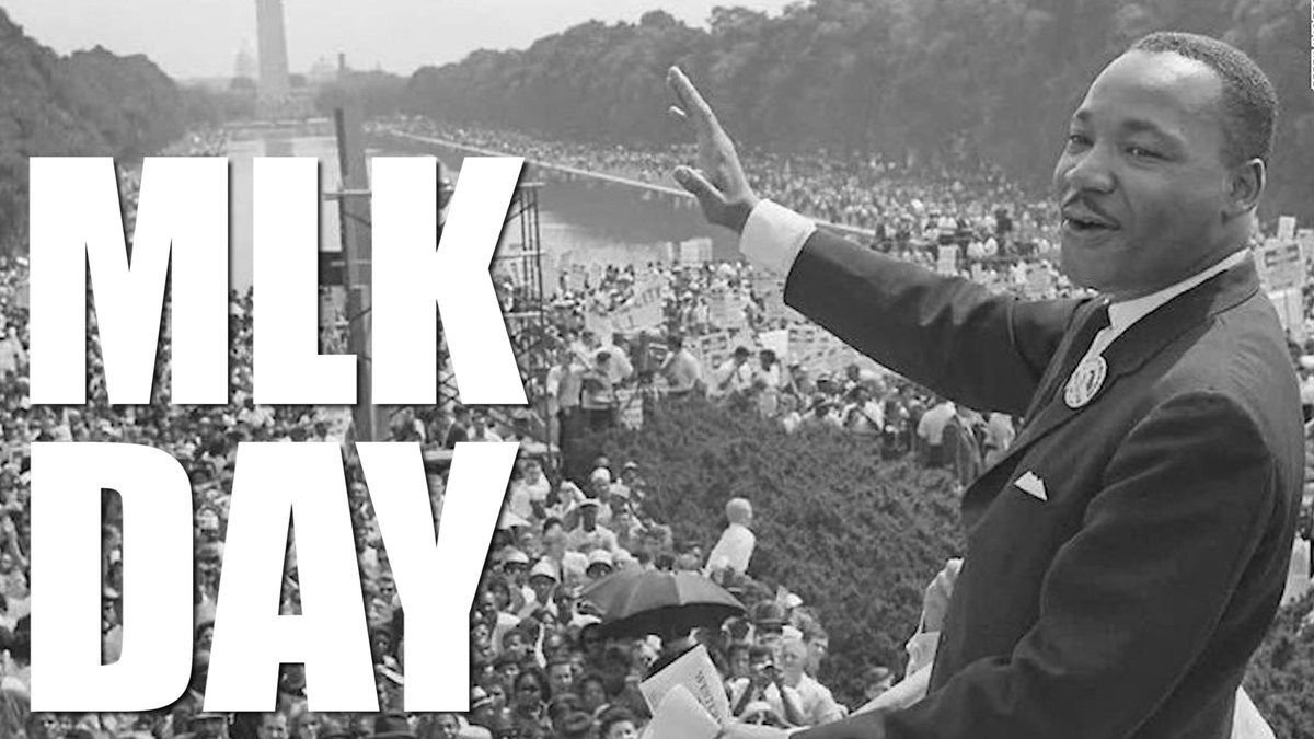 """Today, we celebrate Dr. Martin Luther King Jr. — a man whose fight for equality strengthened our nation. """"A man who won't die for something is not fit to live."""""""