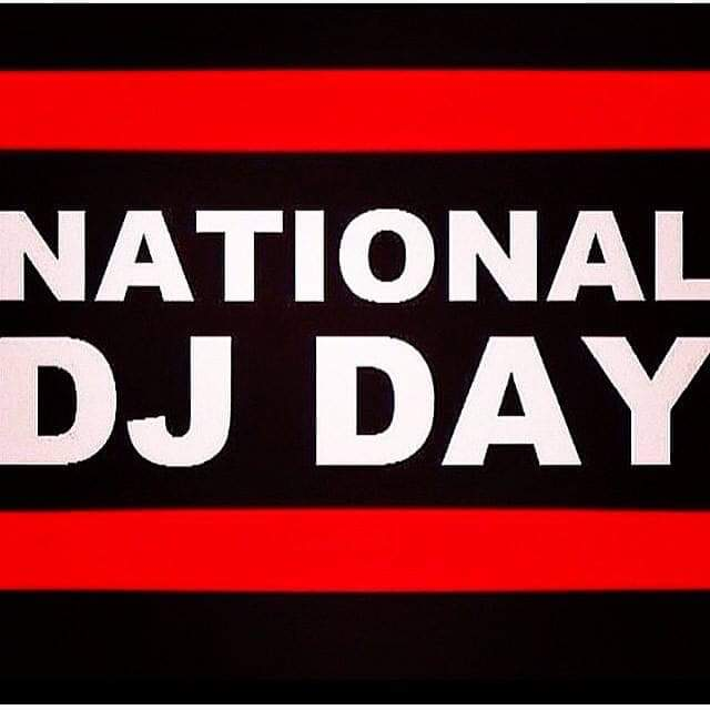 Salute too all da DJ'S out there! #Happy National DJ Day!!!!