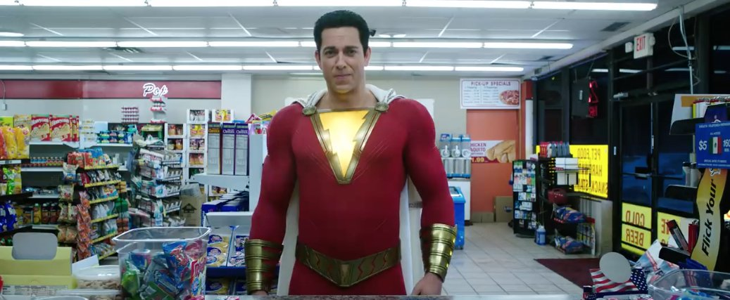 A new trailer for #Shazam ups the action quotient while maintaining the gags: https://t.co/woyO1tp47l