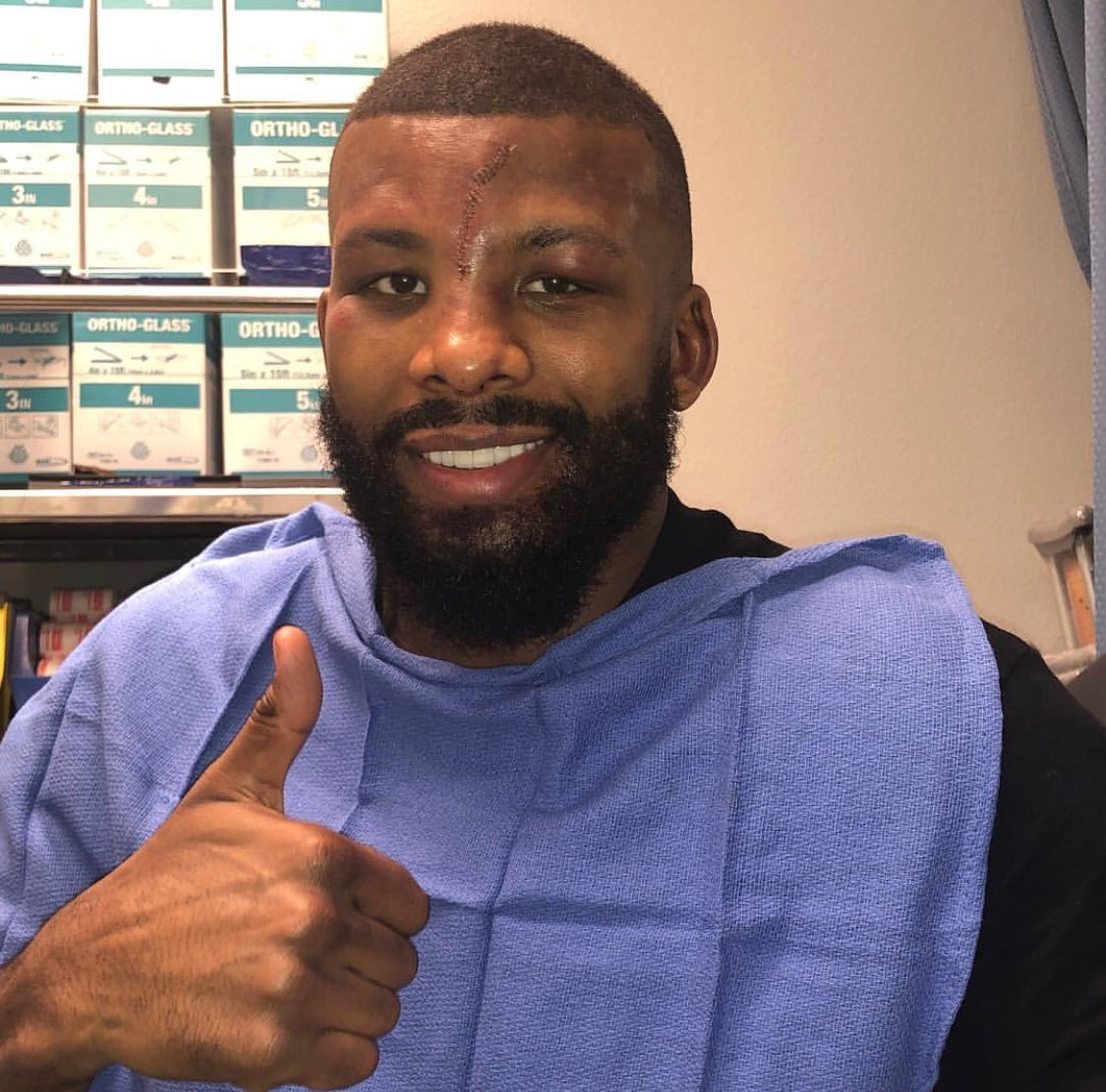 test Twitter Media - We're proud of our warrior and champion @badoujack and wish him a speedy recovery. Salute to Team Jack for always supporting Badou! 🥊 https://t.co/VloX46caQJ