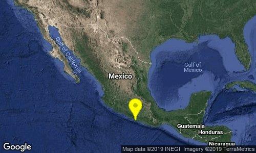 test Twitter Media - SISMO Magnitud 4.1 Loc  9 km al SURESTE de ACAPULCO, GRO 20/01/19 13:31:38 Lat 16.80 Lon -99.85 Pf 19 km https://t.co/BcvPoDPsZY