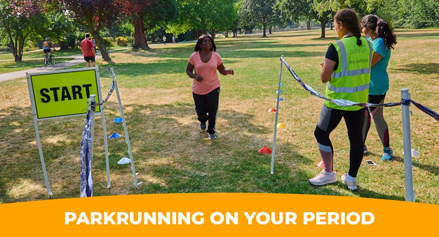 Research shows more than 50% of women & girls in the UK have stopped exercising at some point because of their period  Dr @GBruinvels explains why and how women & girls should be able to train at all times in their menstrual cycle  👉🏾http://parkrun.me/8qgy1   🌳 #loveparkrun