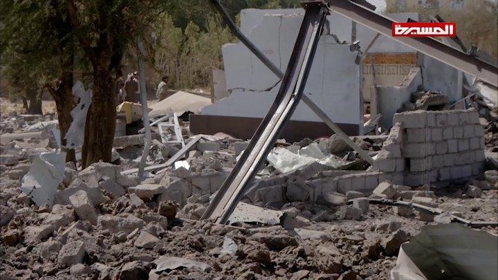 شاهد | الأضرار التي ألحقتها غارات طيران العدوان بمنازل المواطنين في العاصمة #صنعاء #انفروا_خفافا_وثقالا #اليمن #Yemen للتنزيل عبر التيليجرام: https://t.me/AnsarAllahMC/64834…