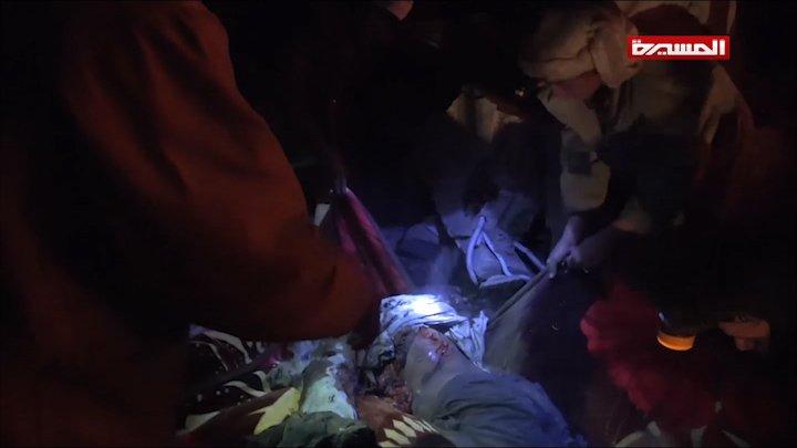 شاهد | جرائم العدوان بحق المدنيين جراء غاراته التي استهدفت العاصمة #صنعاء #انفروا_خفافا_وثقالا #اليمن #Yemen #شبكة_المجد_للٲخبار