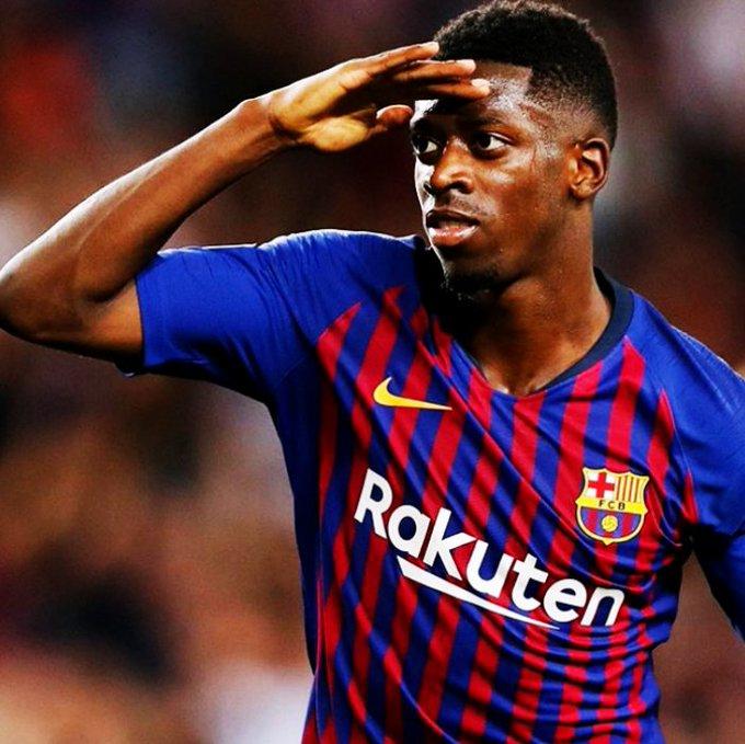Ousmane Dembélé está viviendo la TEMPORADA MÁS GOLEADORA (13) de toda su carrera profesional. Superó sus registros en Rennes y Borussia Dortmund. Su mejor momento desde que se vistió con los colores del FC Barcelona. Foto