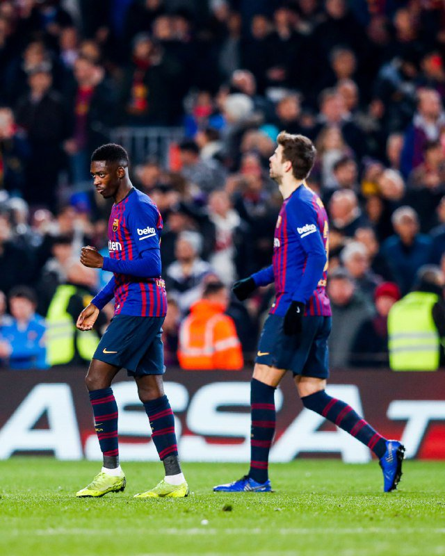On 🔥 @Dembouz now has a CAREER-BEST 13 goals this season, across all competitions! Keep the fireballs comin' Ousmane! 🔥
