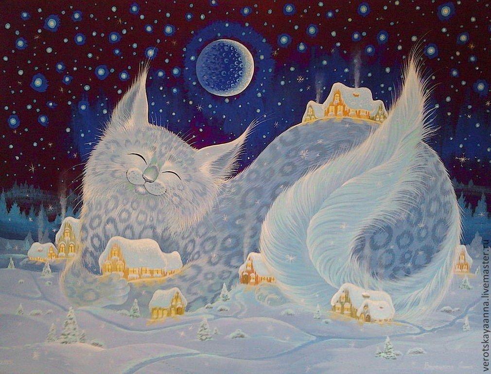 Снежных снов картинки красивые