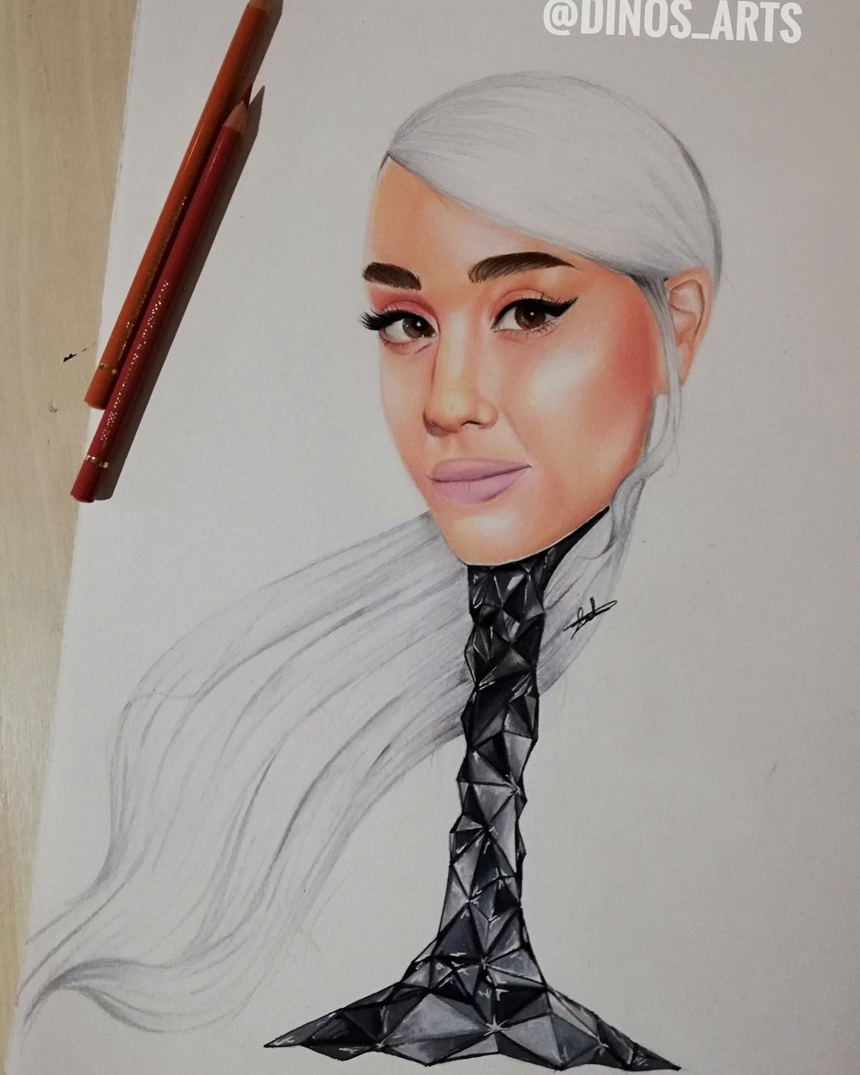 Drawing of arianagrande tags ariana grande arianagrande ari