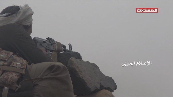 🎥 #شاهد | إحباط محاولات تقدم المرتزقة على #رشاحة قبالة #نجران 20-01-2019  #اليمن #قناة_المسيرة #Yemen