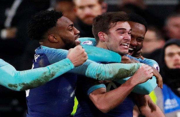 #EPL El Tottenham ganó ante el Fulham con un gol de último minuto (video) https://goo.gl/WzHano