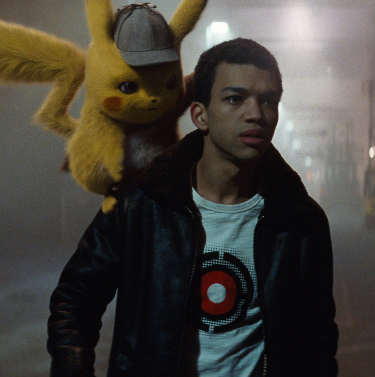 Partner up! #DetectivePikachu, hits theaters May 10.
