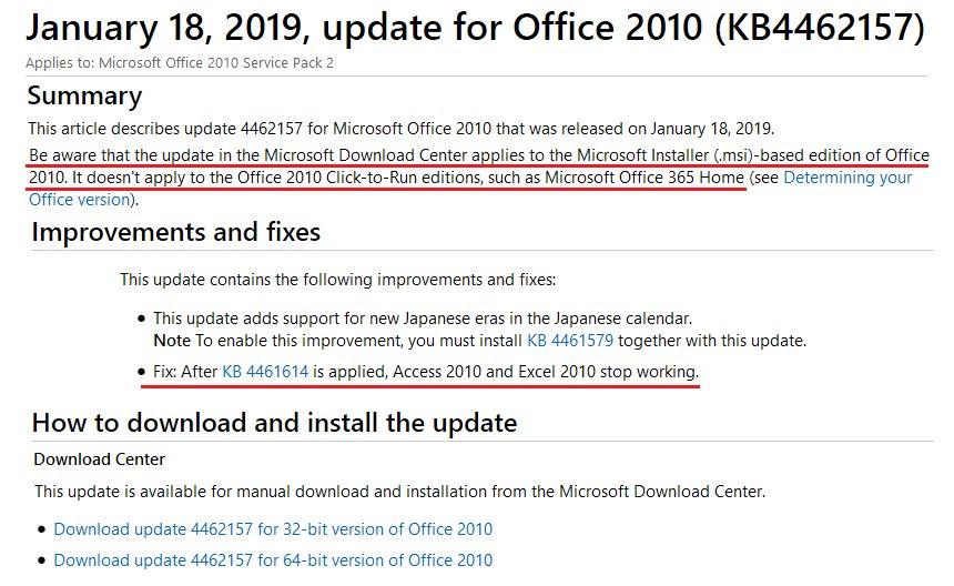 office 2010 windows xp kernel32.dll