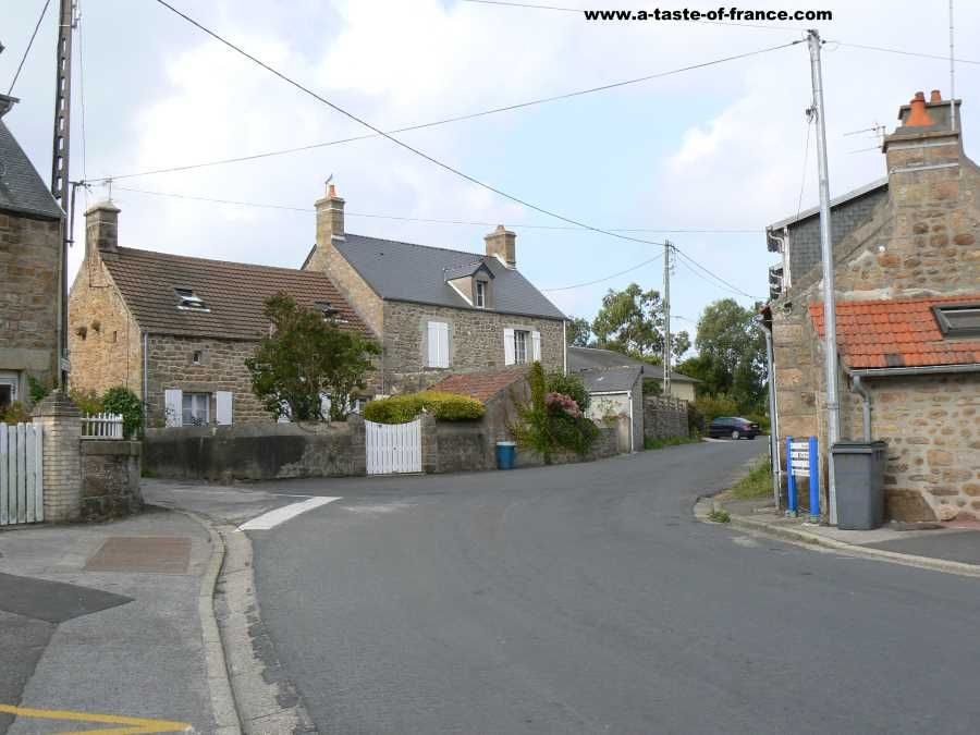 The village of #Fermanville in #Normandy   #France #travel #photo https://buff.ly/2VYDuK9