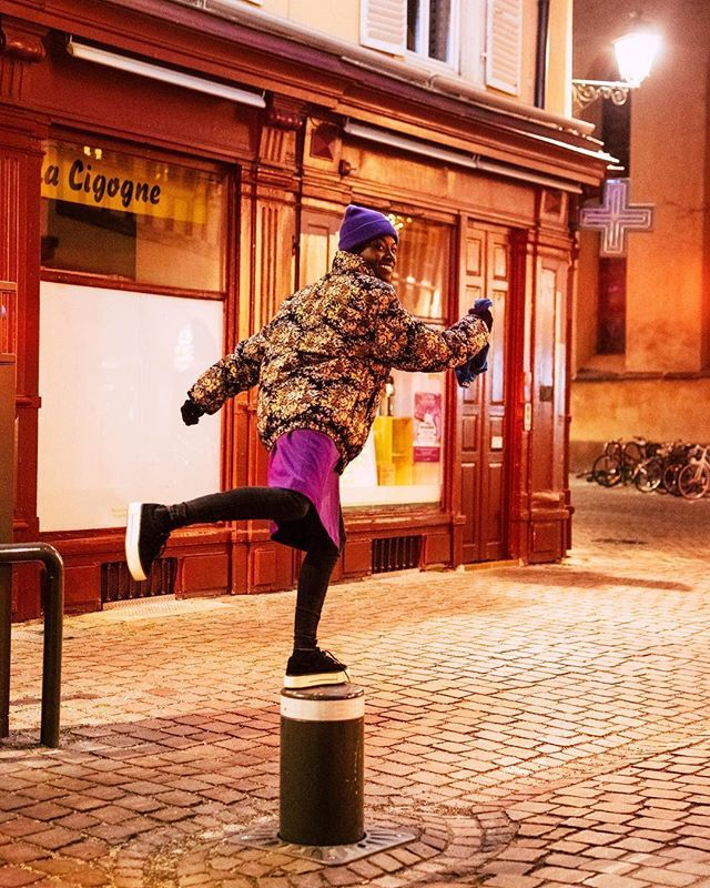 Catch me if u can💃🏿 on Tour with  @goetheinstitut_frankreich in #straßburg  Best Camera goes to @sarah.ann.1998💋 #france #germany #music #life #tour #love #travel http://bit.ly/2szEKG5