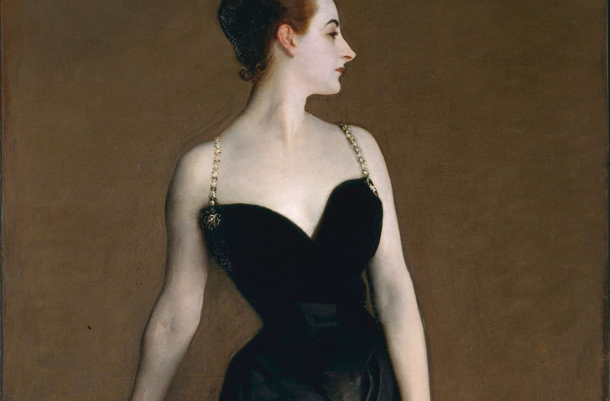 19th-c American artist John Singer Sargent set out to create *Portrait of Madame X* to cement his reputation in #France's art world. Madame X was fellow American #expat Mme Virginie Gautreau, whose beauty was much admired in her adopted French homeland https://buff.ly/2DhESQw
