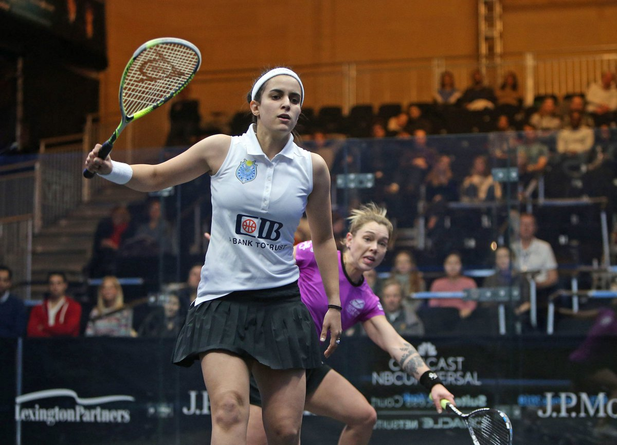 test Twitter Media - Both @noursherbini  and @NourElTayeb  cruised through to the third round of the@ToCSquash   today. Read more about their matches here ⬇️ https://t.co/DyFmc8gwDj https://t.co/w2XgWW2Qse