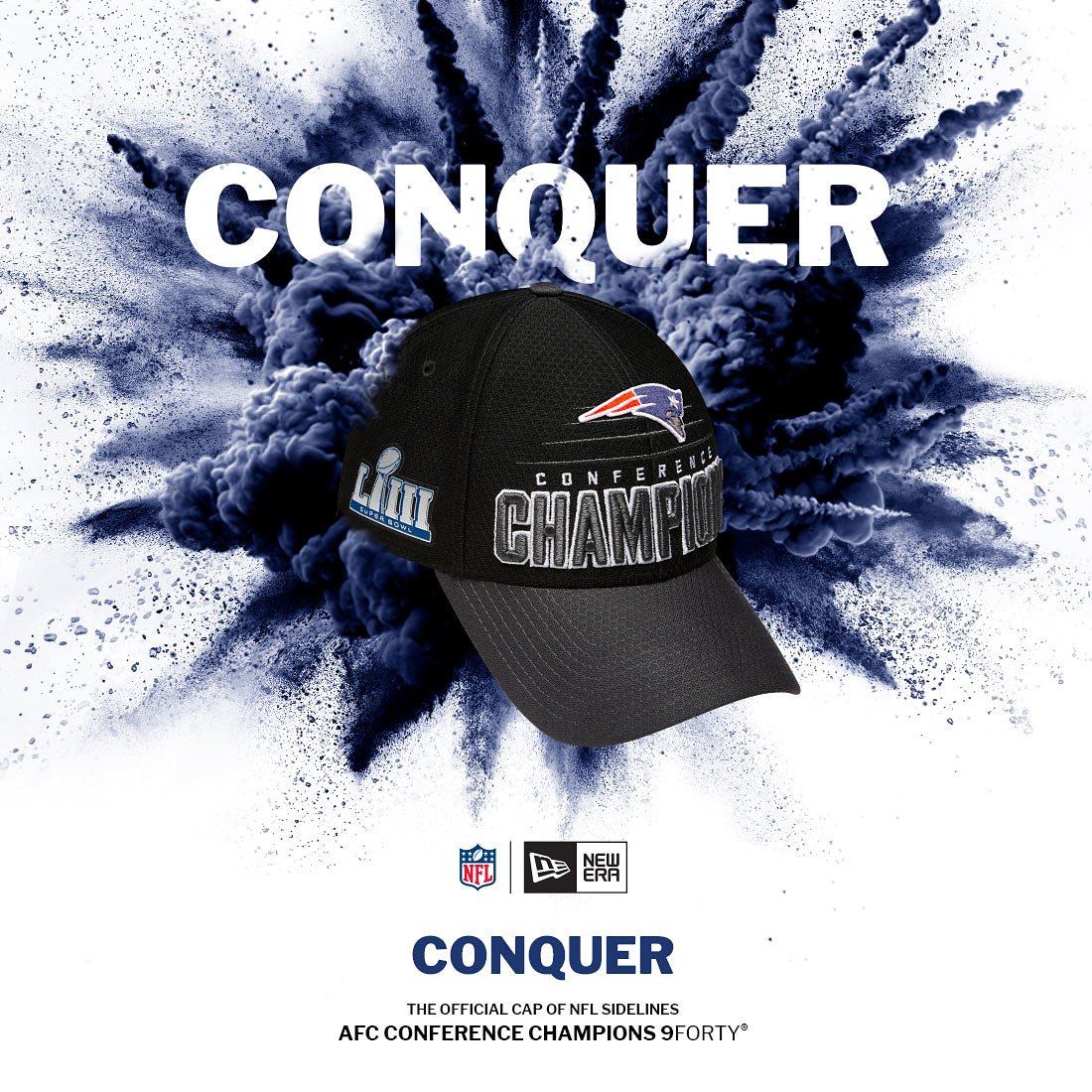 fa9dfff822d Shop for your AFC Championship hats   tees now  http   bit.ly PatriotAFC  Also arriving in select New England stores beginning Monday 1 21.